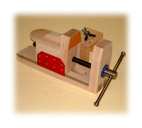 Wooden Bench Vise The Rocking Horse Shop Plans Carvers Chops