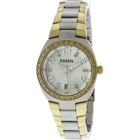 Fossil Am4183 fossil s serena am4183 silver stainless steel analog