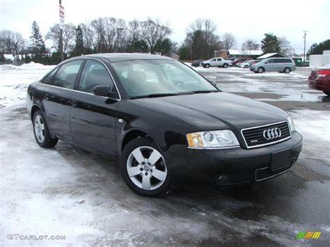 2004 audi a6 3 0 quattro brilliant black 2004 audi a6 3 0 quattro sedan exterior