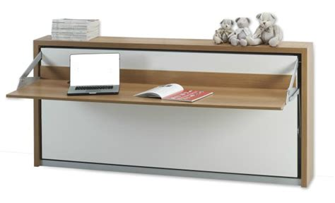 Desk Murphy Bed by Italian Wall Bed Desk Horizontal Murphysofa Smart Furniture