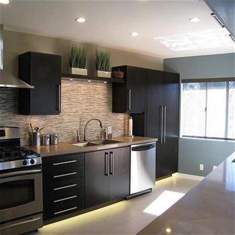 Modern Espresso Kitchen Cabinets by Espresso Kitchen Cabinets Design Ideas