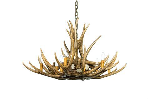 deer antler chandelier mule deer 9 antler chandelier cast horn designs