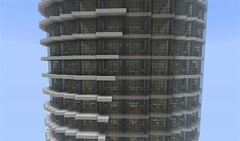 spiral tower minecraft building