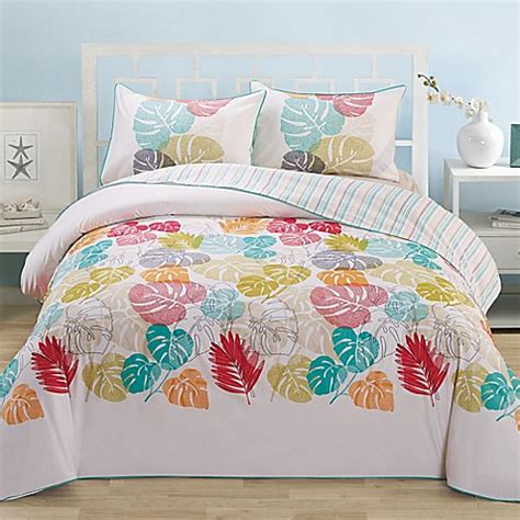 leaf organic cotton comforter set bed bath beyond