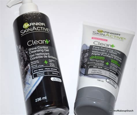 Masker Garnier Clear garnier skin active clean purifying charcoal clay