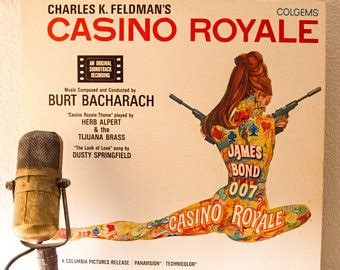 Casino Royale Already A Record Breaker by Vintage Vinyl Record Albums Collectable Lp By Droptheneedle