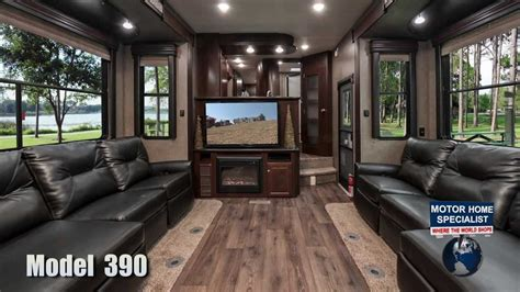 5th Wheel Floor Plans by Road Warrior 390 Toy Hauler Luxury 5th Wheel Review At