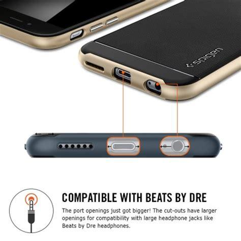 Spigen Iphone 6s Plus Neo Hybrid Metal Slate spigen neo hybrid iphone 6s plus 6 plus metal slate reviews mobilezap australia