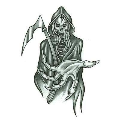 reaper tattoos designs grim reaper images designs