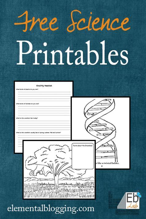 Printable Science Worksheets by Common Worksheets 187 Free Science Printables Preschool