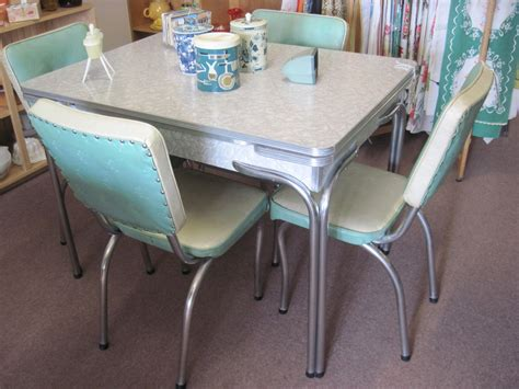 island kitchen chairs retro dining set 70u0027s chrome dining set marvelous
