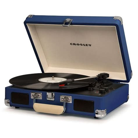 cruiser deluxe turntable crosley cruiser deluxe portable turntable pbteen