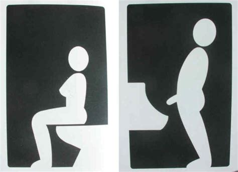 Toilet Sign creative toilet signs