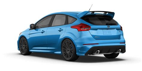 2015 ford focus colors 2016 ford focus rs price colors
