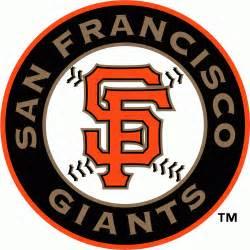Sf Logo San Francisco Giants Alternate Logo 2000 Orange Sf On