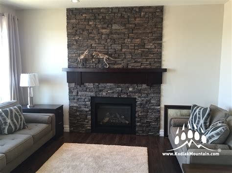 manufactured fireplace surround 4 manufactured veneer design ideas kodiak mountain