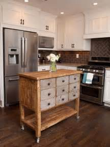Diy Portable Kitchen Island by More Diy Kitchen Islands Decorating Your Small Space