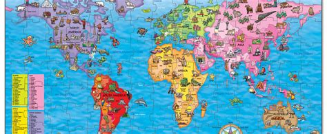 win  world map jigsaw puzzle national geographic kids
