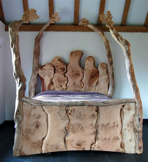 Handmade Wood Beds - handmade wooden beds bespoke handmade beds surreal four