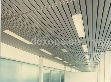 Linear Metal Ceiling Vtr Series Linear Metal Ceiling Sun Louvers Metal Ceiling