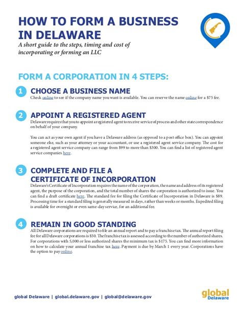 llc fast and easy guide to forming a limited liability company and starting a business the right way books how to form a delaware inc or llc in 4 steps