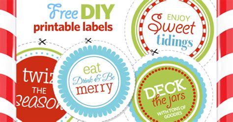 printable christmas jar labels free 7 best images of free printable jar labels free