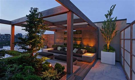 rooftop landscaping holbrook associates landscape architects