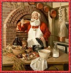 le p 232 re noel cuisine dans sa cuisine
