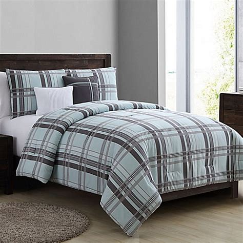 twin xl grey comforter buy vcny home maxwell 4 piece twin xl comforter set in