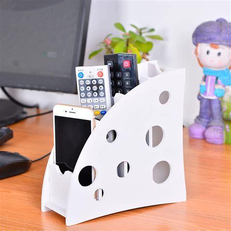 Best Seller Remote Stand Holder Rack Rak Remot urijk practical desk storage box holder remote storage holder makeup organizer for