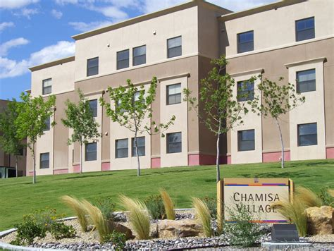 nmsu housing chamisa village housing residential life new mexico state university