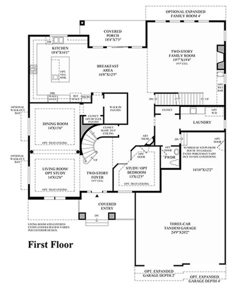 Toll Brothers At Backcountry Luxury New Homes In Toll Brothers Home Floor Plans