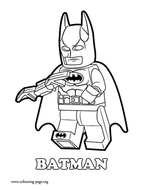 Lego Batman 2 Coloring Pages free coloring pages of lego batman 2 joker