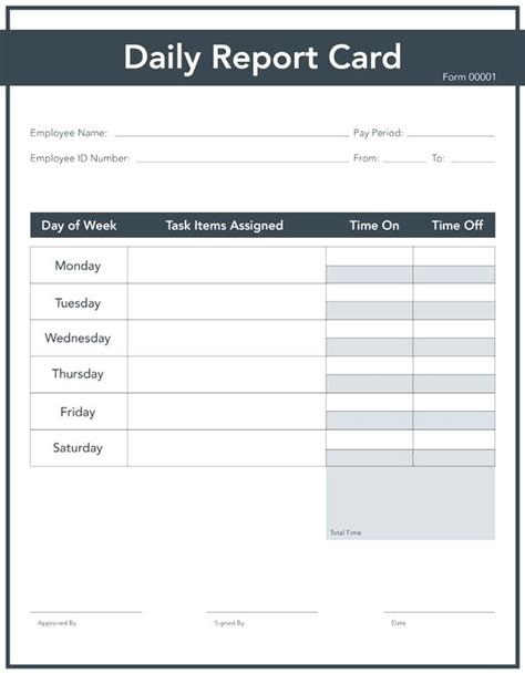 basic report card template blank report card template simple free spitznas info