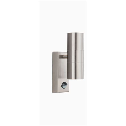 Outdoor Sensor Wall Lights Searchlight 7008 2ss 2 Light Outdoor Wall Light Motion Sensor
