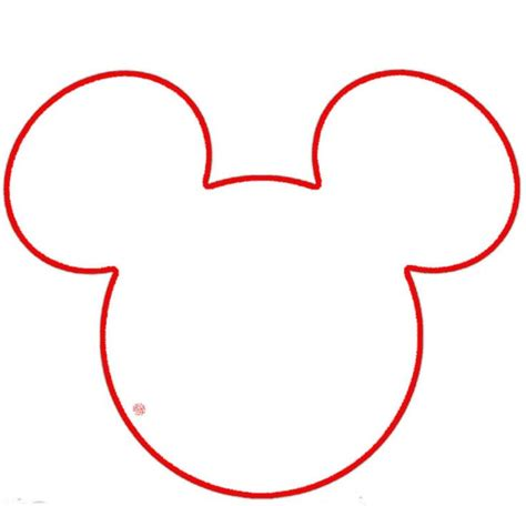 mickey mouse head outline cliparts co