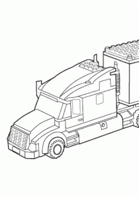 lego truck coloring page lego coloring pages for kids to print and color