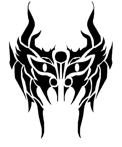 tribal mask by 2facedphantom on deviantart