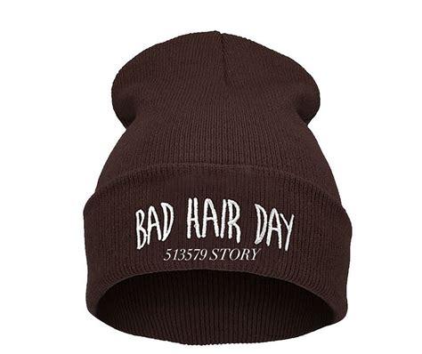 Beanie Sport Winter Bad Hair Day Beanie Cap Hat Beanie Knitted Win sale 2014 sport winter 16 color bad hair day beanie