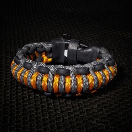 mountaineer survival kit bracelet goldenrod 6 5 quot l