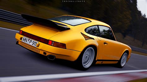 Porsche Yellow Bird by Ruf Yellowbird At The Ring Picture By Me In Gran Turismo 6