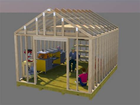 12x16 Gable Shed Plans by Storage Shed Building Plans 12x16 Gable Shed Plans