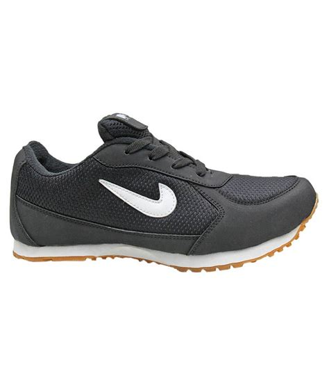 sports black white sports shoes price in india buy