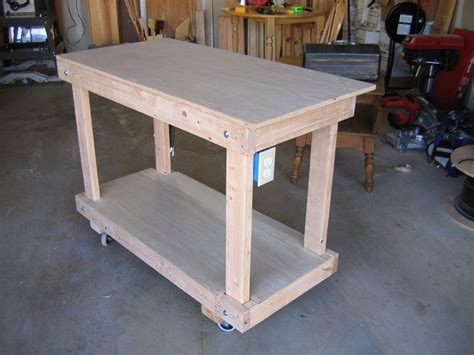 solid wood work bench work bench solid wood home made rolling work bench