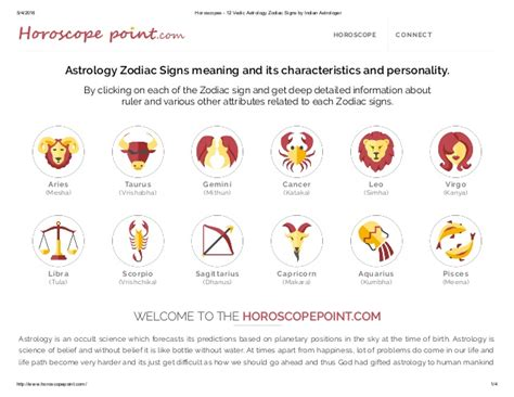 times of india astrology section www horoscopepoint com 12 astrology zodiac signs information