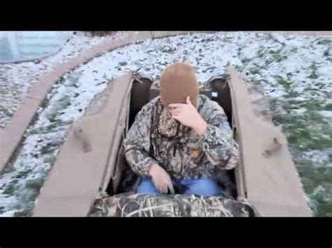 northern flight ultimate layout blind snow cover hard core man cave doovi