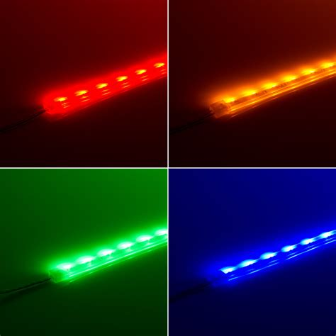Led Outdoor Lighting Strips Waterproof Side Emitting Led Light Strips Outdoor Led Light With 18 Smds Ft 1 Chip Smd