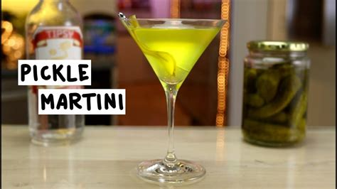 martini pickle pickle martini