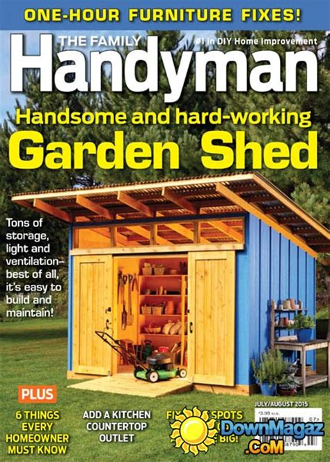 How To Start A Bathroom Remodel the family handyman usa july august 2015 187 download