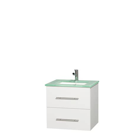 green vanity bathroom wyndham collection wcvw00924swhggunsmxx centra 24 inch